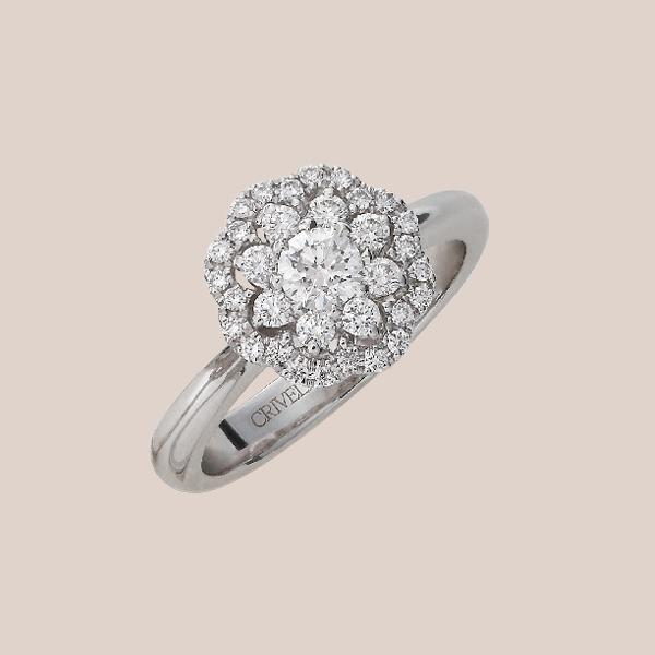 Anello fidanzamento diamanti 06 | I Will I Do Crivelli Collezione Sposa