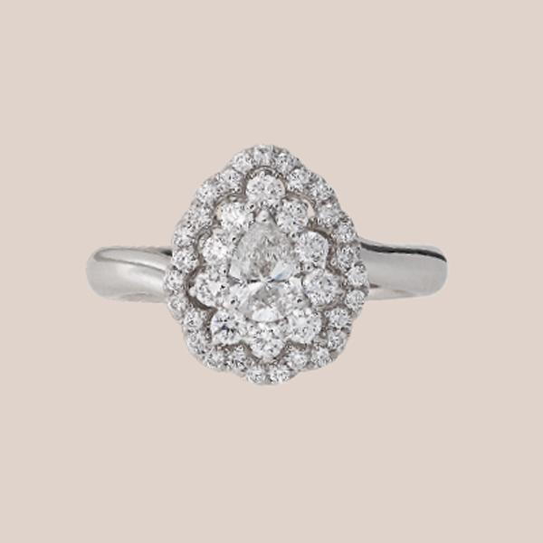 Anello fidanzamento diamanti 04 | I Will I Do Crivelli Collezione Sposa