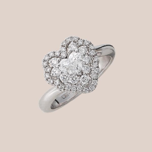 Anello fidanzamento diamanti 05 | I Will I Do Crivelli Collezione Sposa