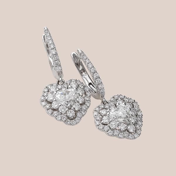 Orecchini diamanti 03 | I Will I Do Crivelli Collezione Sposa