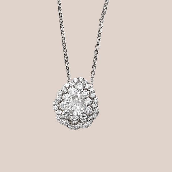 Pendente diamanti 02 | I Will I Do Crivelli Collezione Sposa