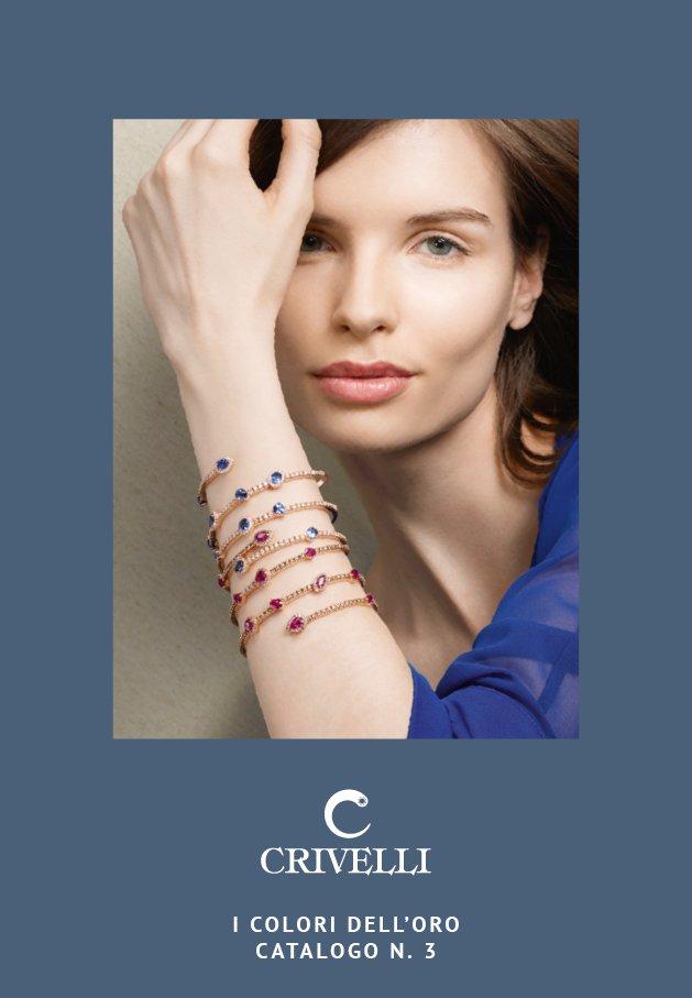 Catalogo Crivelli Gioielli i colori dell'oro n. 3 | Crivelli Official