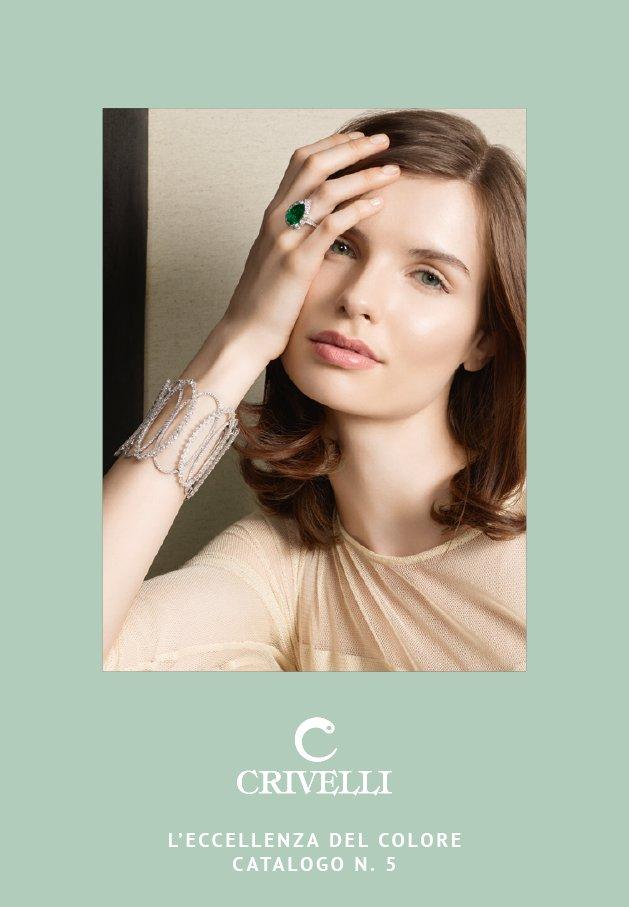 L'eccellenza del colore n 5 | Catalogo gioielli Crivelli Official