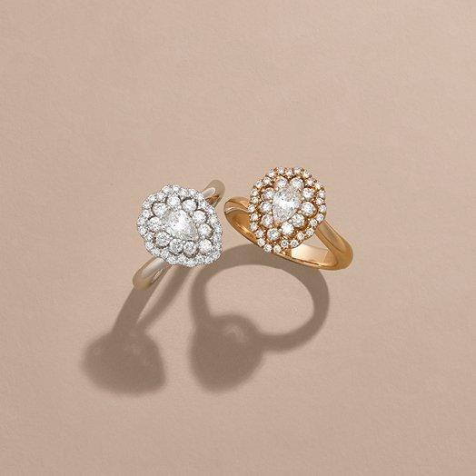 Anelli fidanzamento diamanti | I Will I do Crivelli Gioielli Sposa